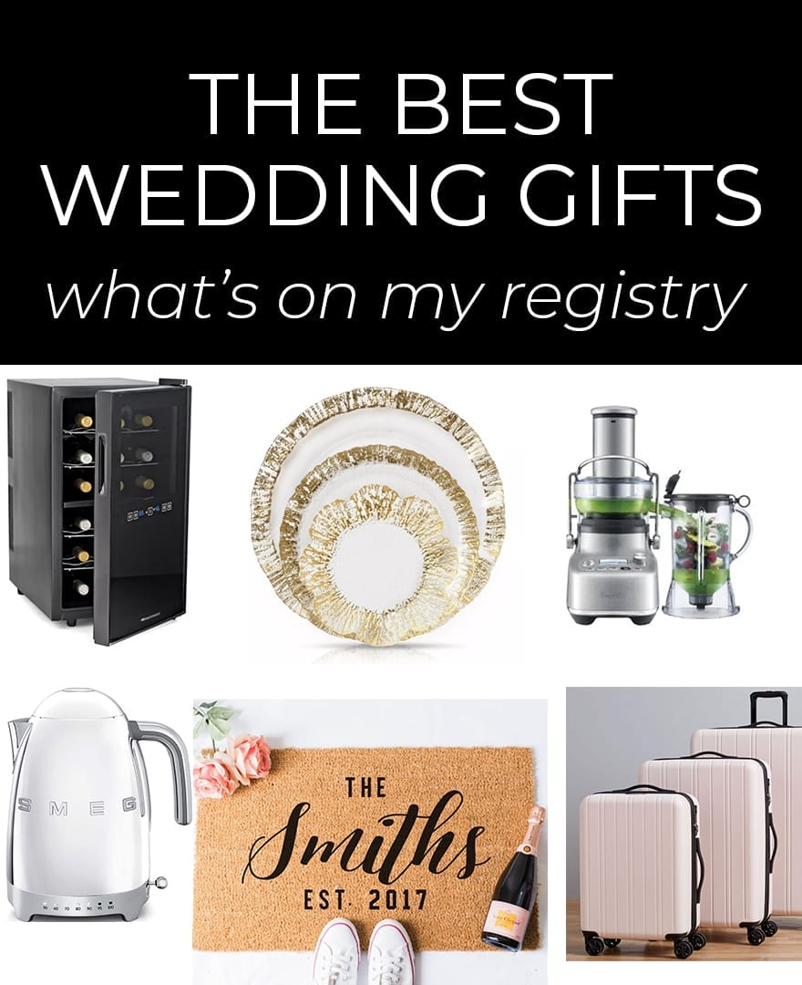 The Best Wedding Gifts For Brides & Grooms: What's On My
